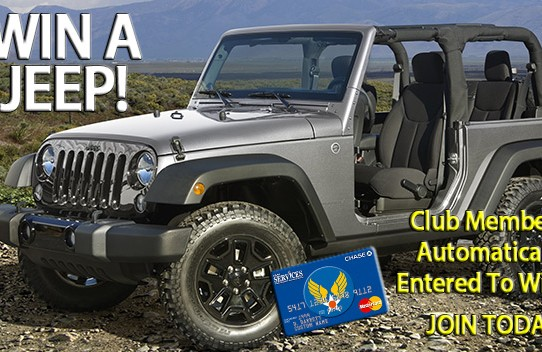 Win A Jeep!