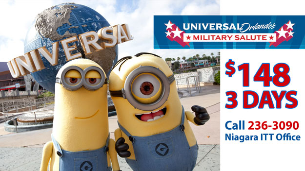 Universal Studios Orlando has renewed their Military Room and Ticket Packages for 2018!