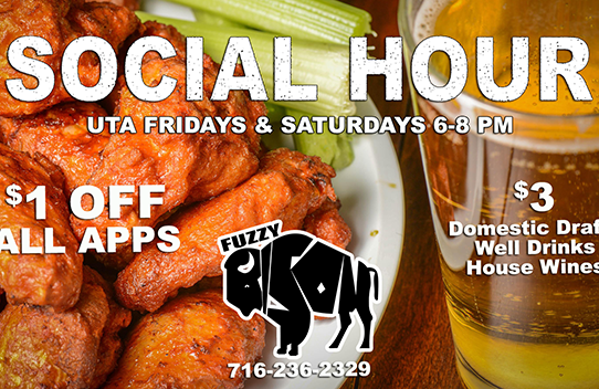 New! Social Hour Starts Friday