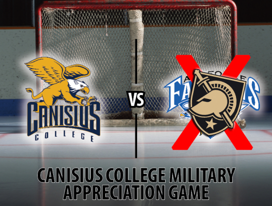 UPDATE: Canisius vs. ARMY Hockey