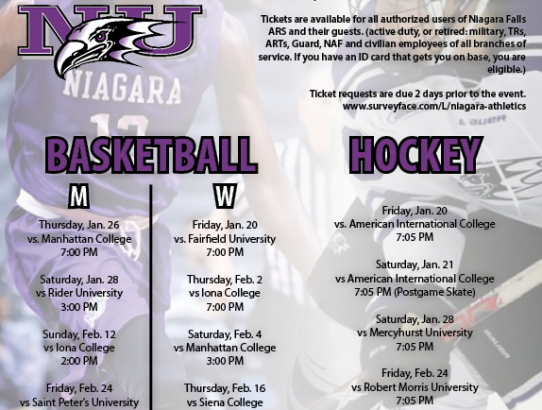 Niagara University - Free Tickets