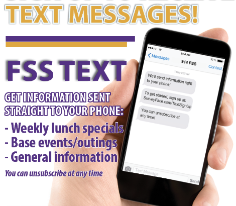 Sign Up For FSS Text